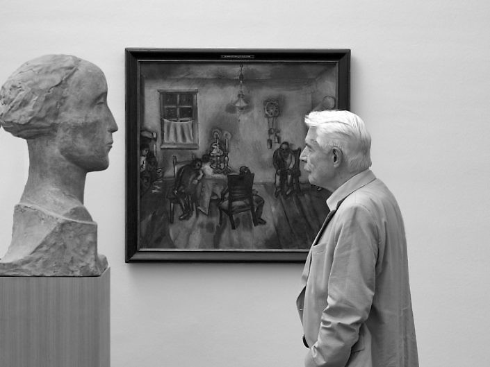 The Museumgoers - Menschen im Museum
