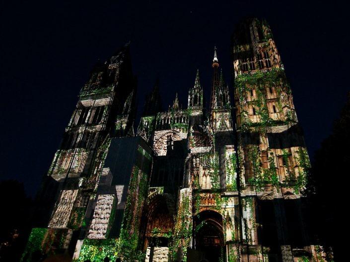 Cathédrale de Lumière 2014 – Rouen 2014