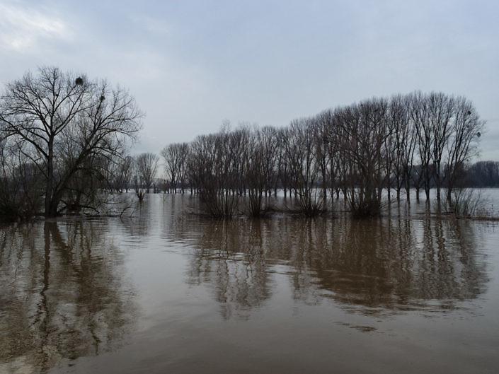 Hochwasser in der Kämpe 2017